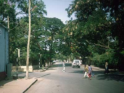 A street in Kezira, Dirre Dawa, summer 1995.